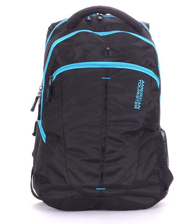 american tourister black amp blue r53079003 laptop bag buy
