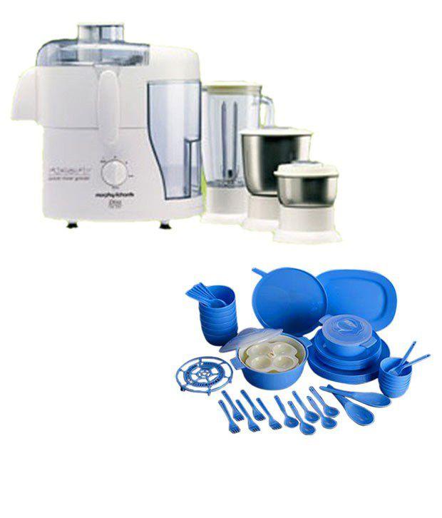 Morphy Richards Mixer Grinder Juicer: Morphy Richards Divo Essentials 3 Jar Juicer Mixer Grinder