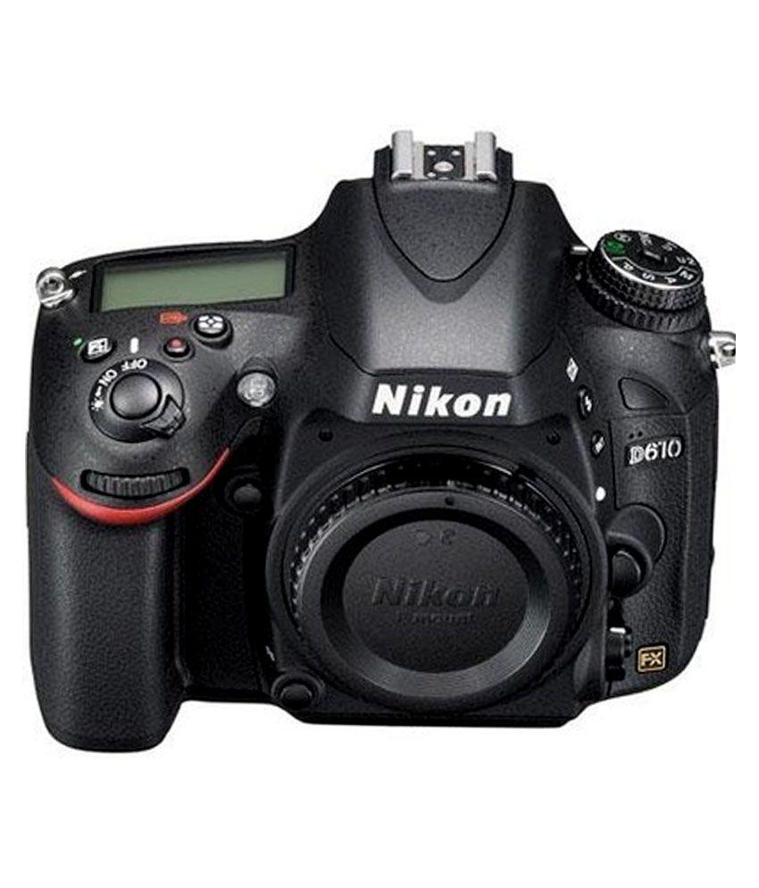 Nikon D610 (Body only) DSLR Camera(Black) D610