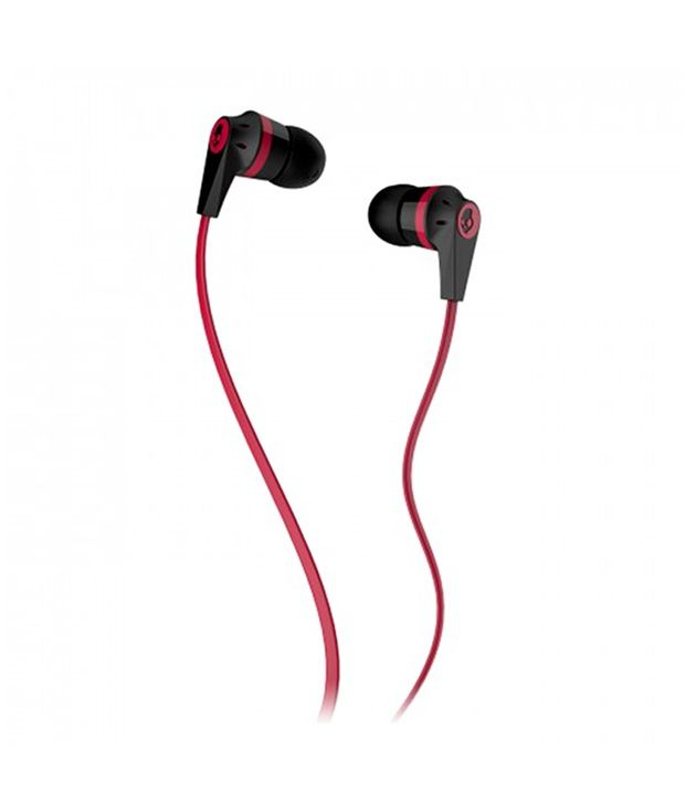 Skullcandy INKD 2 In Ear Earphones with Mic (Red)