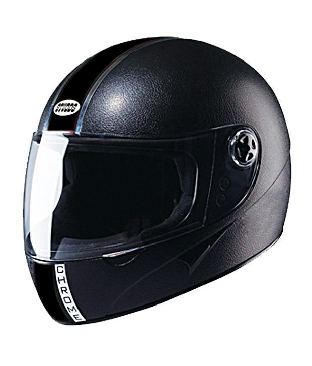 5f5fc041a STUDDS Chrome Economy - Full Face Helmet Black L: Buy STUDDS Chrome Economy  - Full Face Helmet Black L Online at Low Price in India on Snapdeal