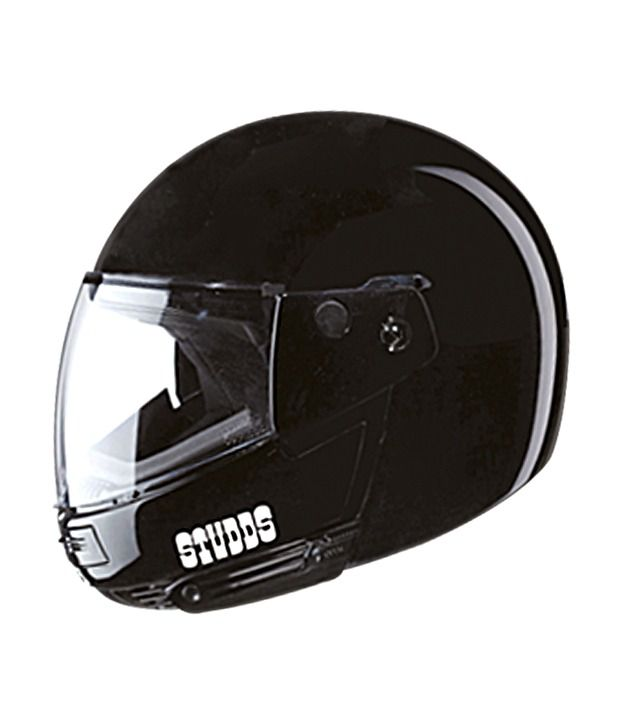f2339c34 STUDDS Ninja Pastel - Full Face Helmet Black XL: Buy STUDDS Ninja Pastel -  Full Face Helmet Black XL Online at Low Price in India on Snapdeal