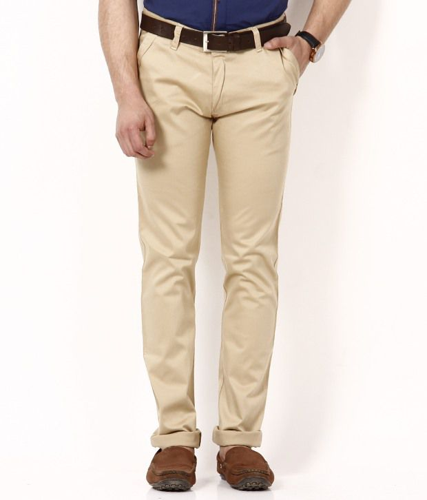 British Terminal Light Khakhi Chinos