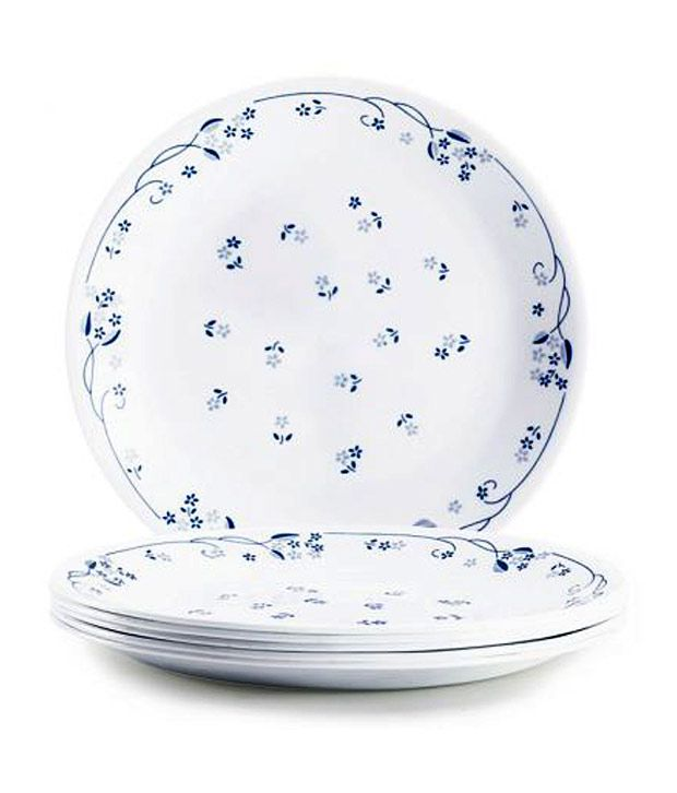Corelle Provincial Blue Dinner Set 57 Pcs Buy Online At Best Price In India