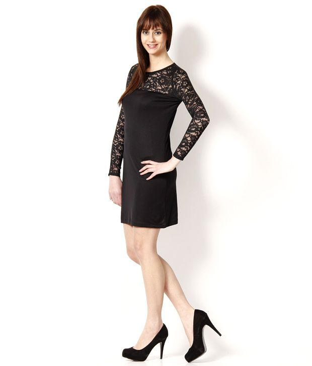 1a0854ca43f4 499 Black Dress - Buy 499 Black Dress Online at Best Prices in India ...