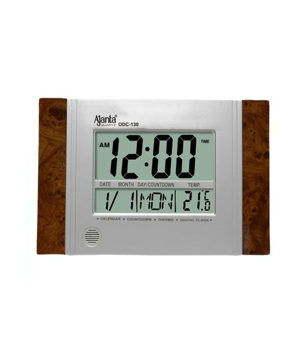 Ajanta Digital Wall Clock Odc 130 Buy Ajanta Digital Wall