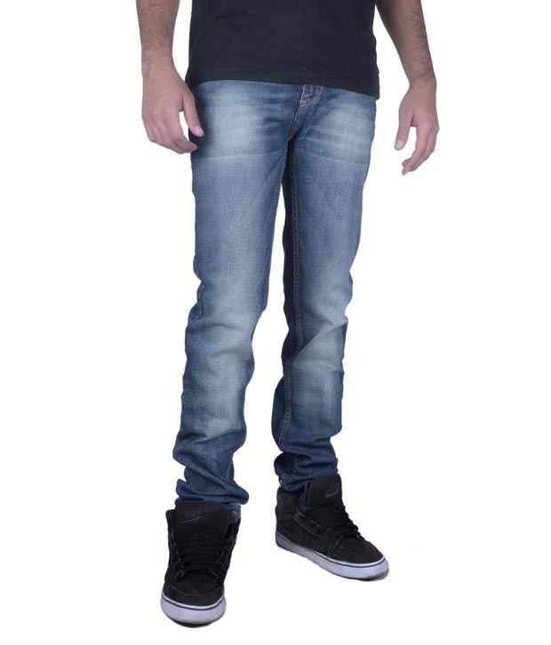 Calvin Klein Skin Fit Mens Jeans Blue