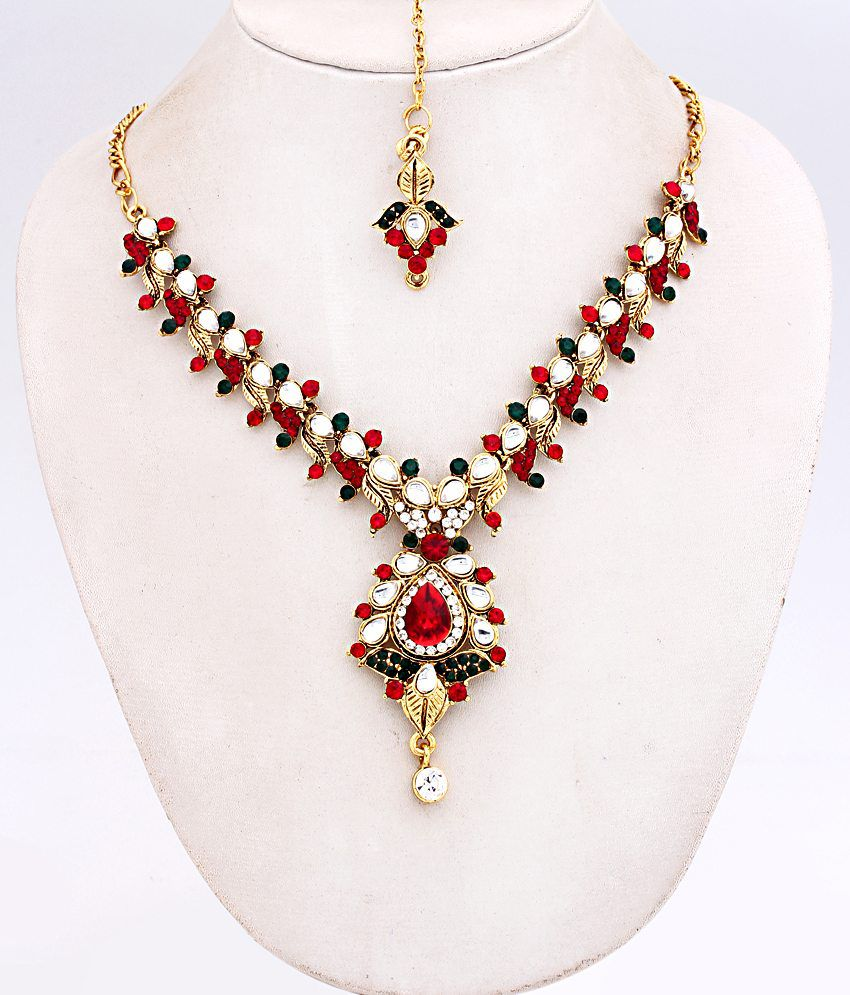 Ethnic Jewels Exhuberant Necklace Set