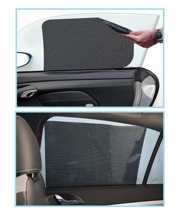 Car Window Water Mesh Screen Window Curtain