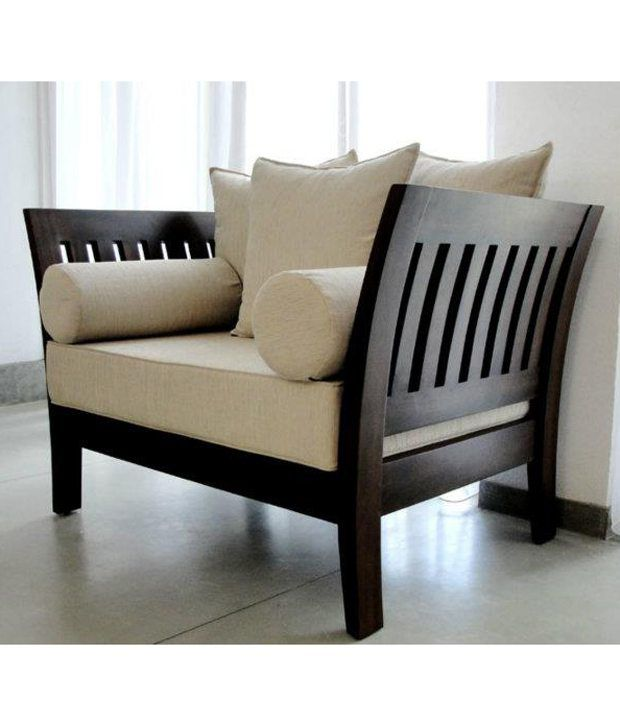 Furny Wooden Sofa Set Extra Spacious 3 plus 2 plus 1 ...