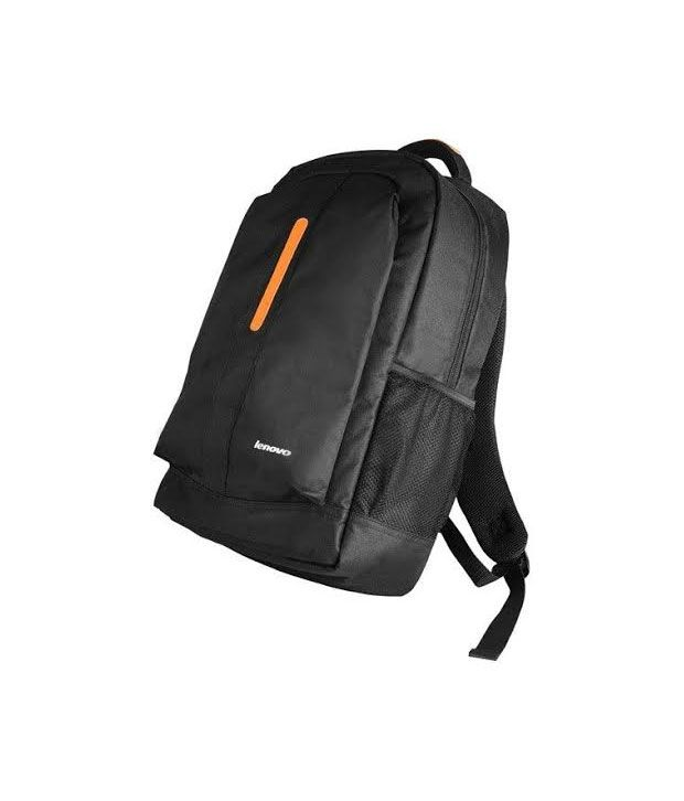 Black Polyester Laptop Bag Manufactured For Lenovo Laptops