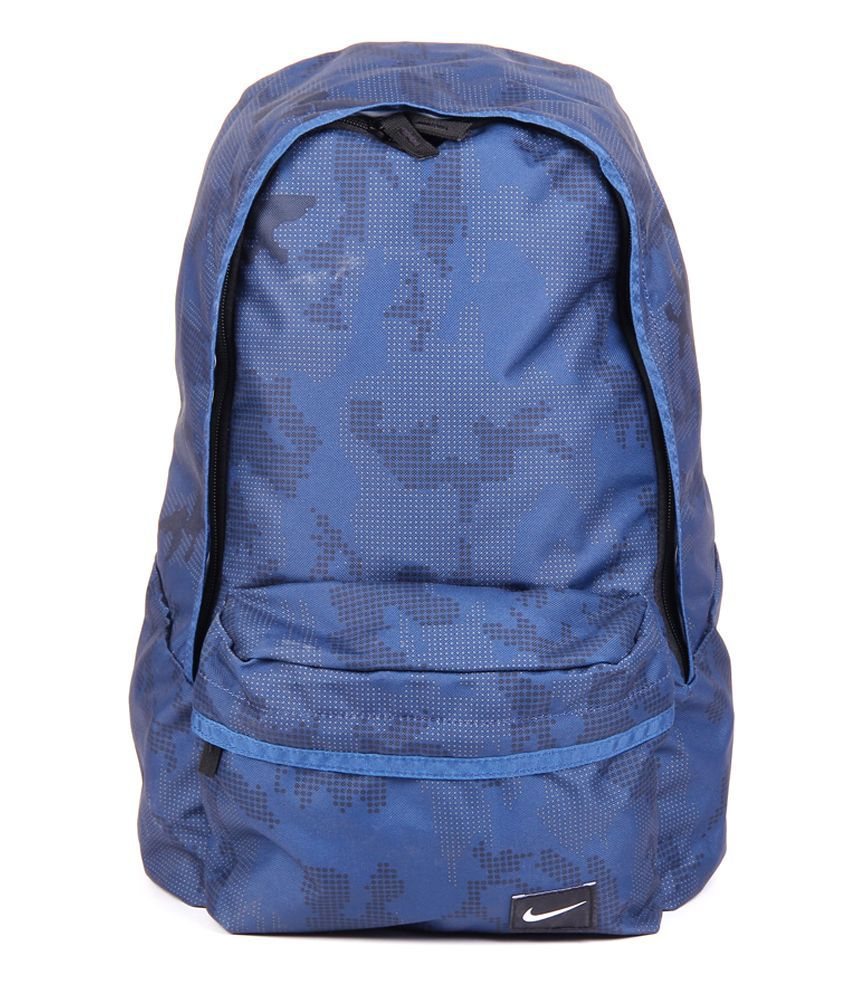 f53ed91f7951d2 Nike Blue BA4302-457 Backpack - Buy Nike Blue BA4302-457 Backpack Online at Best  Prices in India on Snapdeal