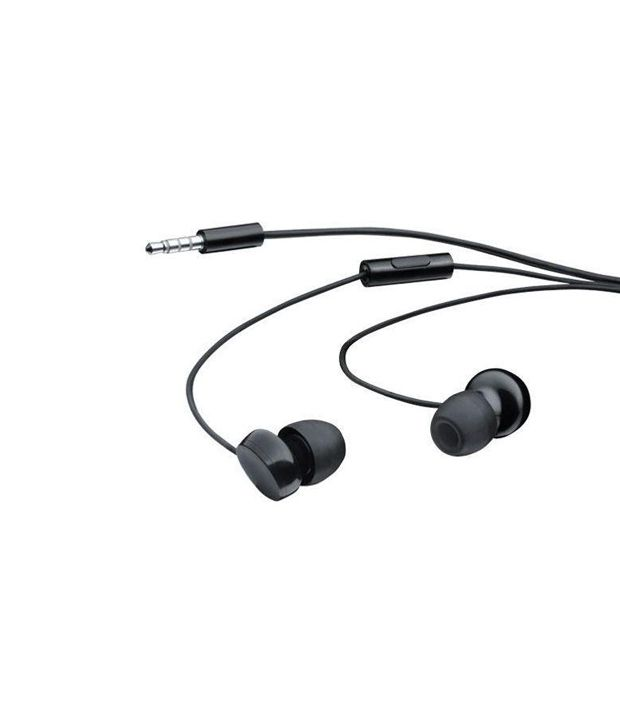 Nokia In-the-Ear Wired Headset - WH-208 (Black) - Buy Nokia In-the ...