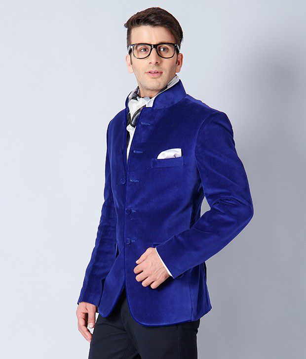 Platinum Studio Royal Blue Jacket