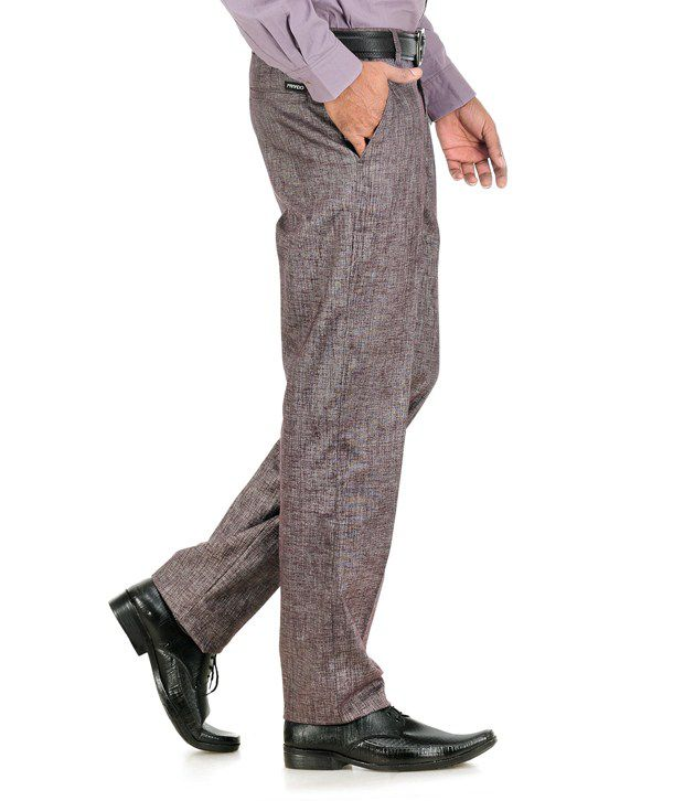 Praado Blue Lycra Trousers