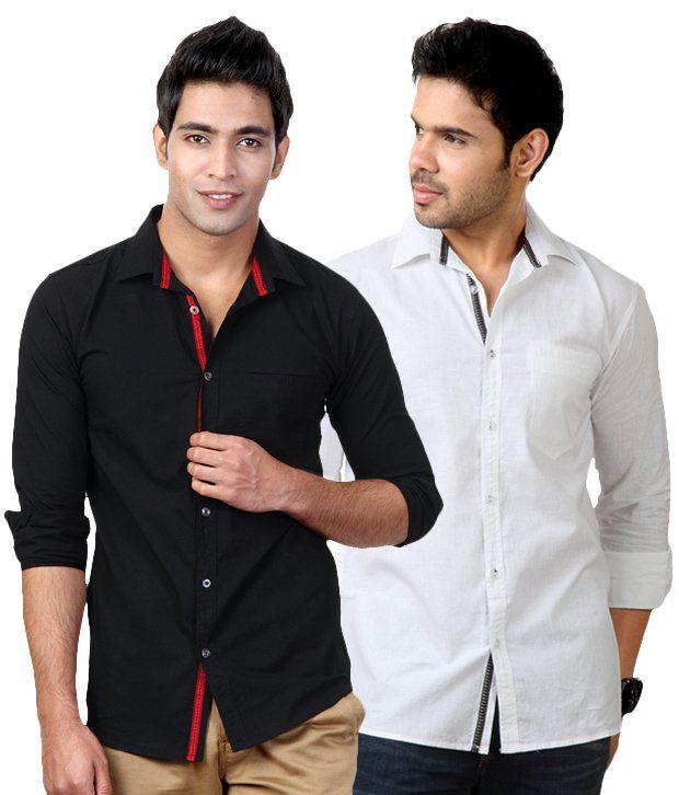 Black Shirt Online India | Is Shirt
