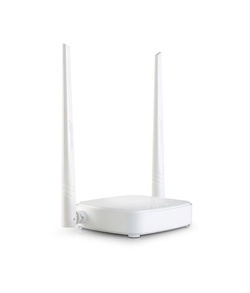 Tenda N301 Wireless N300 Easy Setup Router  White, Not a Modem