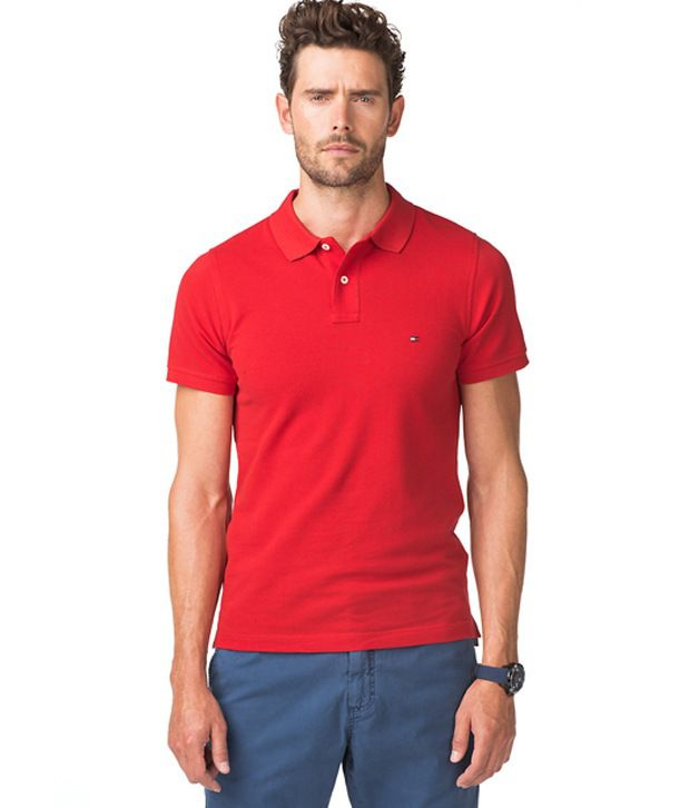 241c7169 Tommy Hilfiger Red Polo T Shirt - Buy Tommy Hilfiger Red Polo T Shirt  Online at Low Price - Snapdeal.com