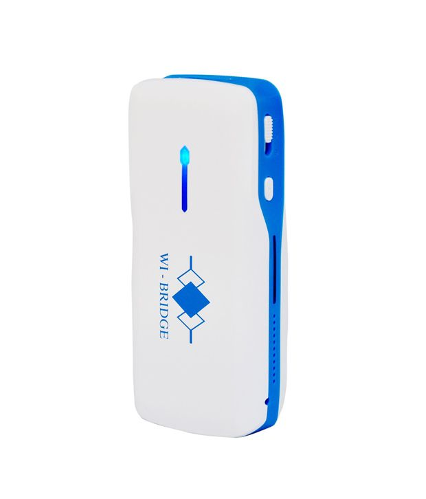 WI-BRIDGE 3G Wireless Router with Battery Bank(WR3G050-01)