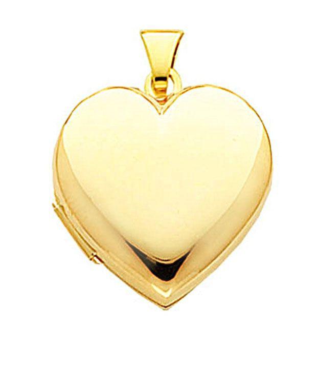 Avsar gold heart shape pendant buy avsar gold heart shape pendant avsar gold heart shape pendant aloadofball Image collections