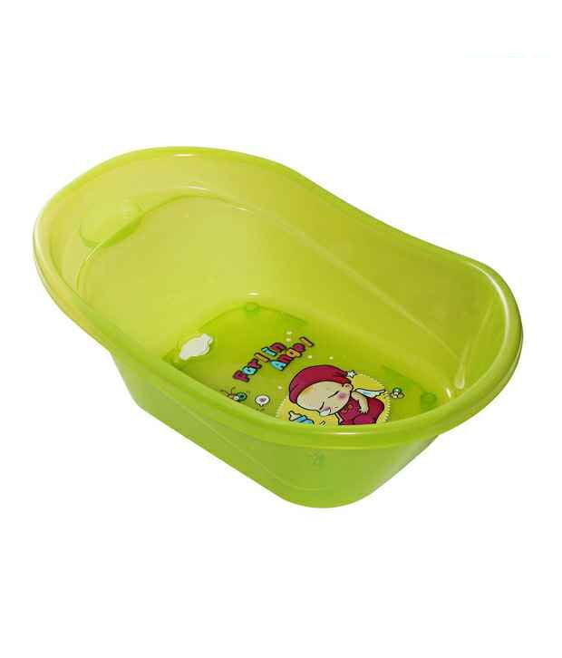FARLIN Green Anti Skid Bath Tub