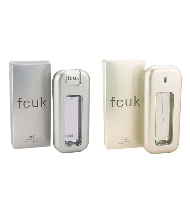 FCUK Men EDT 100 ml + FCUK Women Couple Gift Set