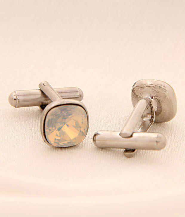 Favola Vibrant Crystal Cufflinks