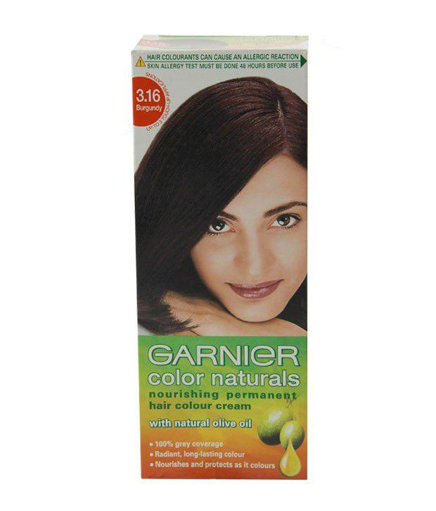 Garnier Burgundy Hair Color Review India