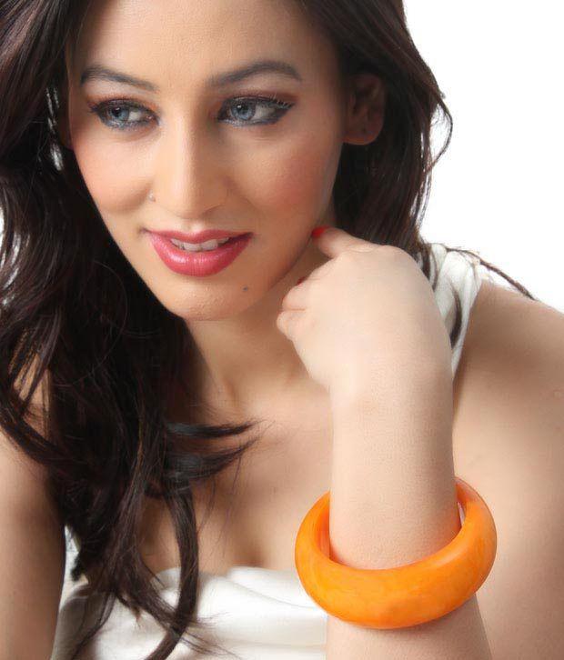GetStyled Exquisite Orange Bangle