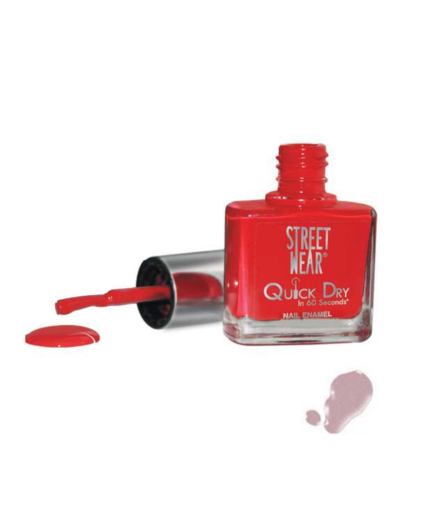 Street Wear Quick Dry Nail Enamel METALLIC MAUVE  9ML