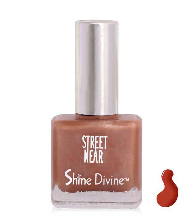 Street Wear Shine Divine Nail Enamel BERRY DIVINE  9ML