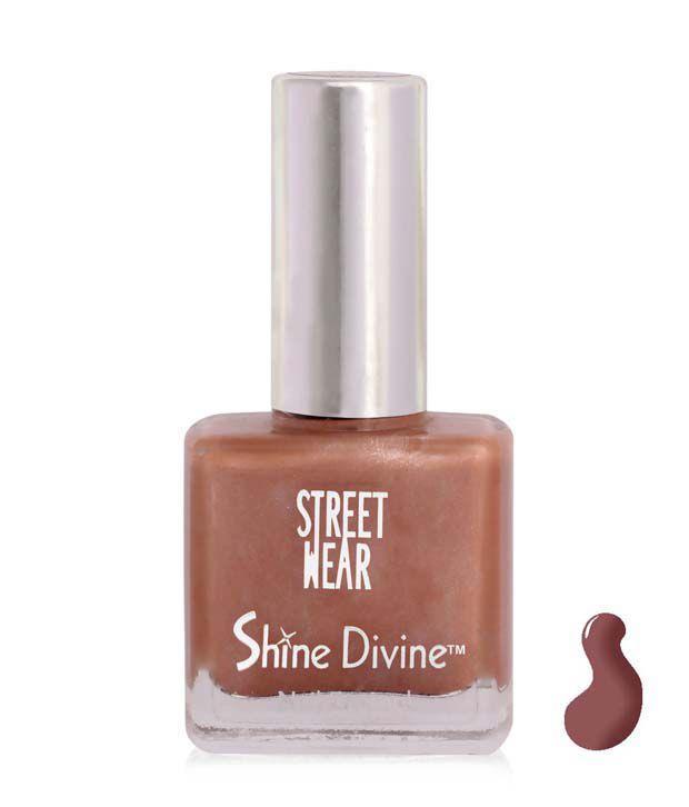 Street Wear Shine Divine Nail Enamel CHOCOLTE DIVINE  9ML