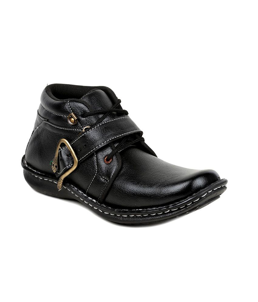 Factory Rush Edgardo Boots - Black