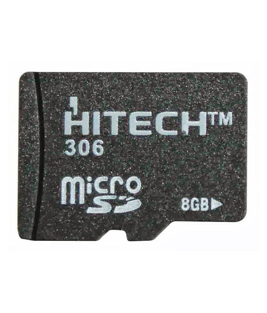 Hitech 8GB MicroSD Class 4 Memory Card