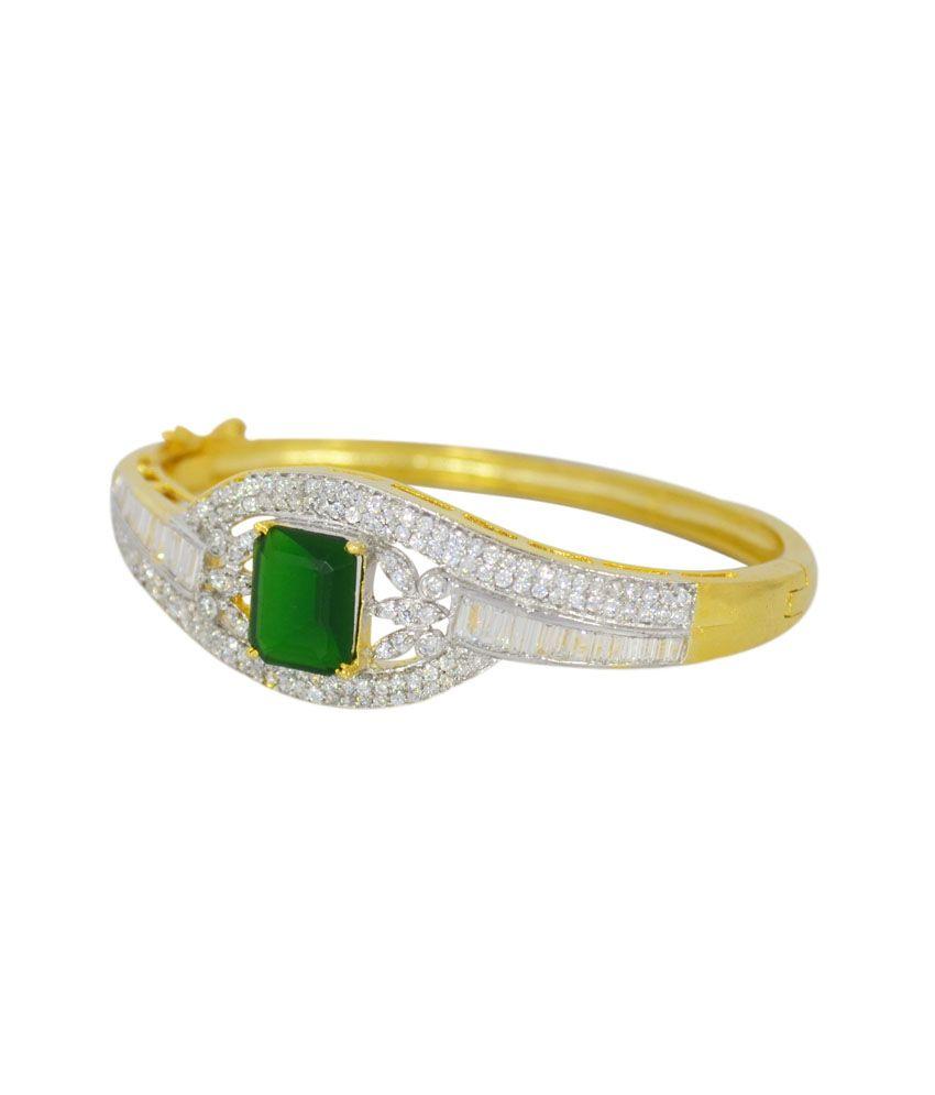 Manya Shop Stunning American Diamond Bracelet