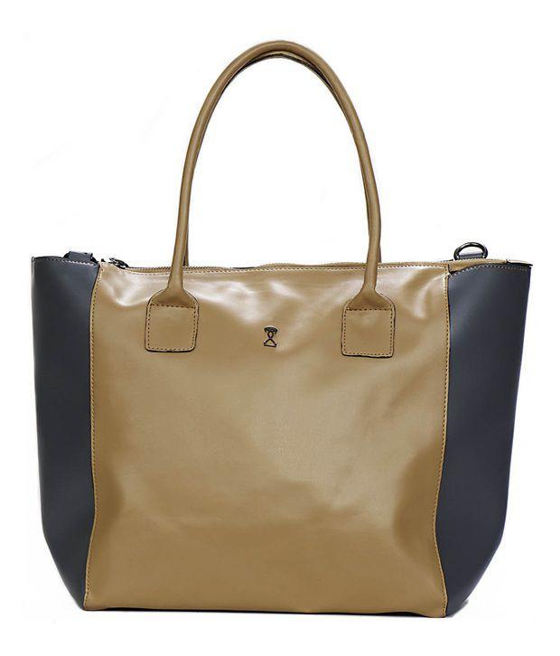 Strota Classy Brown Satchel Bag