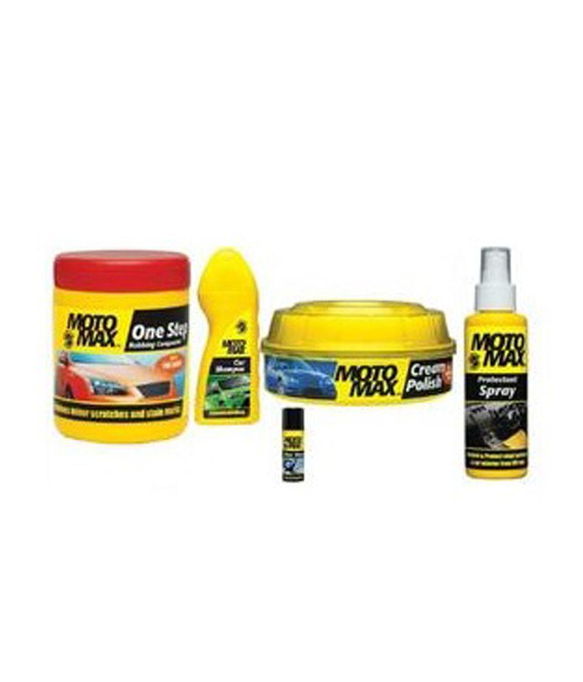 Motomax - Pidilite Motomax Car Care & Cleaning Polish Kit ...
