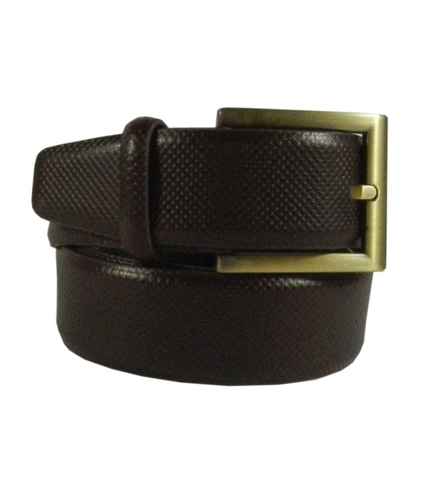 Silverbull Brown Leather Belt
