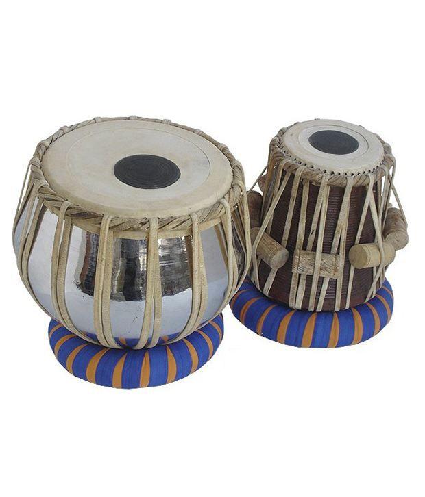 Indian Musical Instruments Tabla Tabla Steel Pair: Buy ...