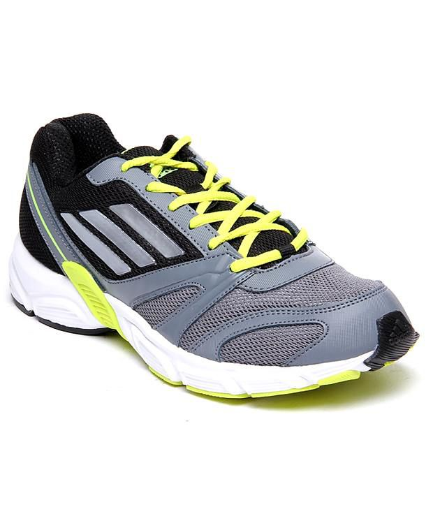 02c5cd2d66cd Adidas Smart Black And Gray Sports Shoes - Buy Adidas Smart Black And Gray Sports  Shoes Online at Best Prices in India on Snapdeal