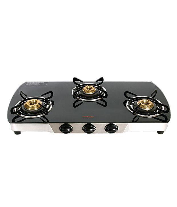 Hindware Primo GL 3 Burner Gas Cooktop