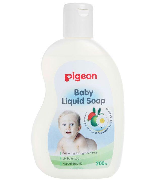 Pigeon baby liquid soap - 200ml: Buy Pigeon baby liquid ...