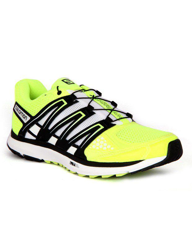 Salomon X-Scream Neon Green Running Shoes