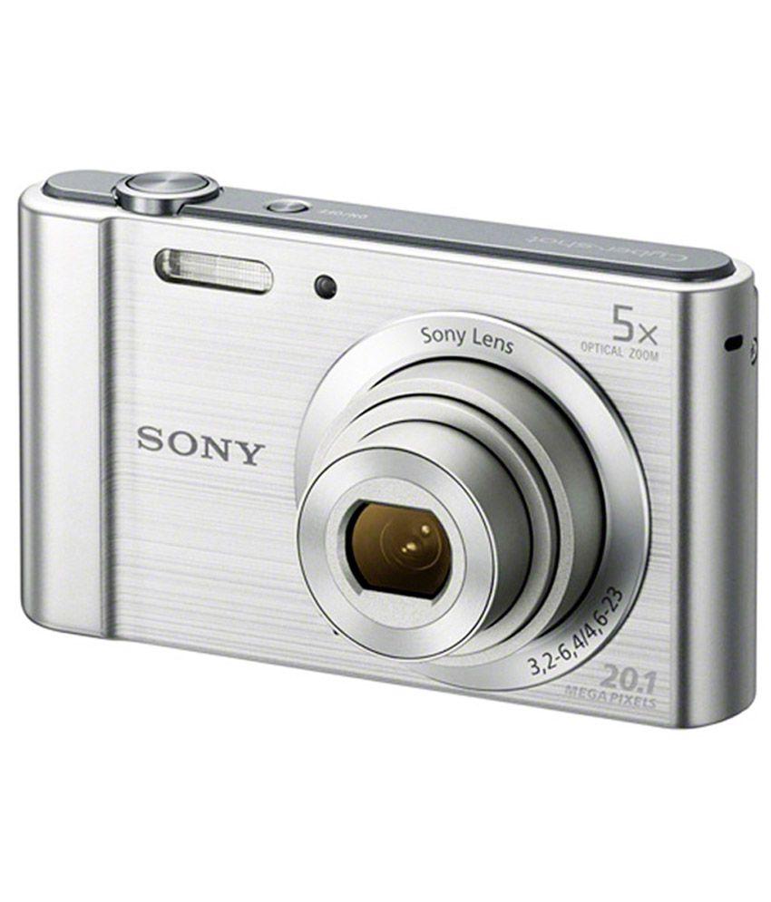 Sony Cybershot W800 20.1MP Digital Camera (Silver)