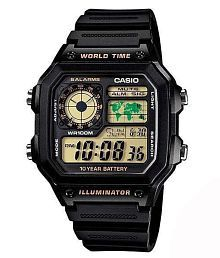 Casio Youth Digital Techie Series AE-1200WH-1BVDF (D098 ) Men's Watch