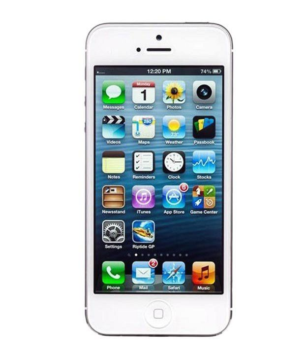 Apple iphone 5 16gb white mobile phones online at low for Fenetre zoom iphone x