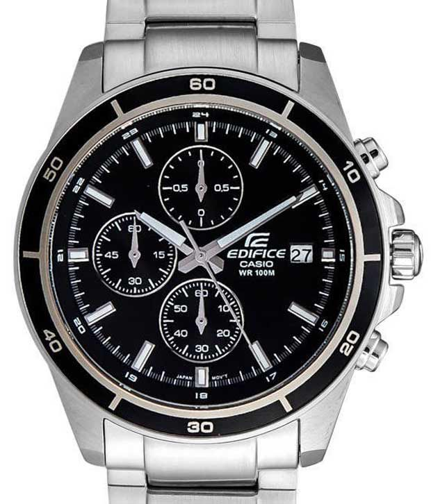 Casio Edifice Chronograph EFR-526D-1AVUDF (EX093) Men s Watch - Buy Casio  Edifice Chronograph EFR-526D-1AVUDF (EX093) Men s Watch Online at Best  Prices in ... 8a8fc2c5b5
