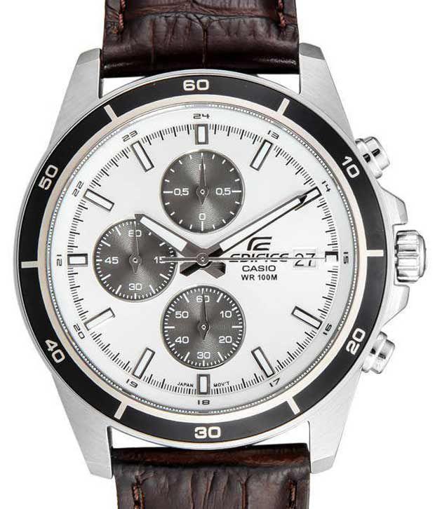 casio edifice chronograph efr 526l 7avudf ex097 men s watch