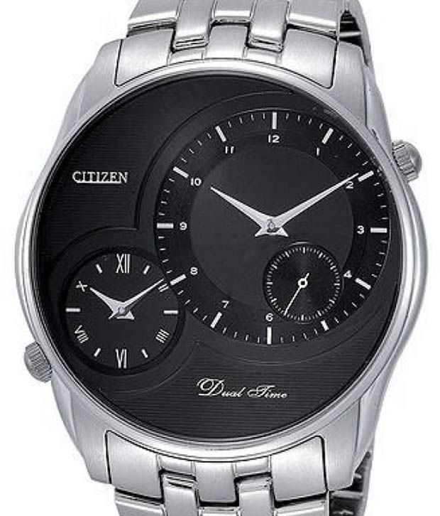Citizen Smart Black Dual Time Watch