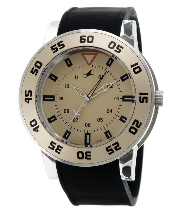 fastrack black analog watch for men 9950pp06j buy fastrack black fastrack black analog watch for men 9950pp06j
